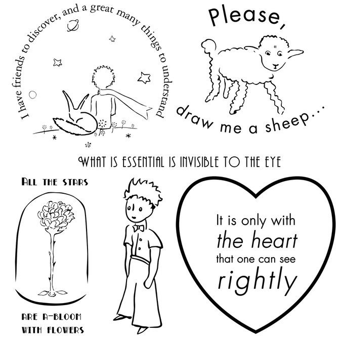 The Little Prince | Prince tattoos, Little prince quotes, Little .
