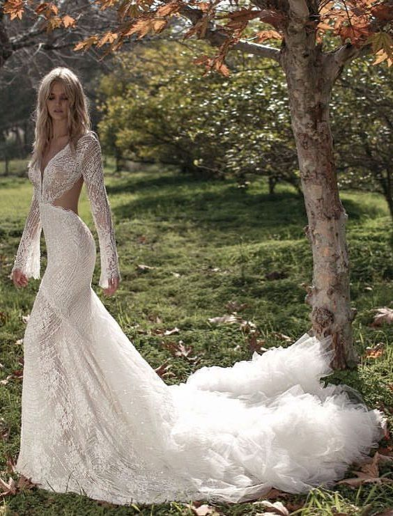 Wedding Dress Inspiration - Idan Cohen - MODwedding | Wedding .