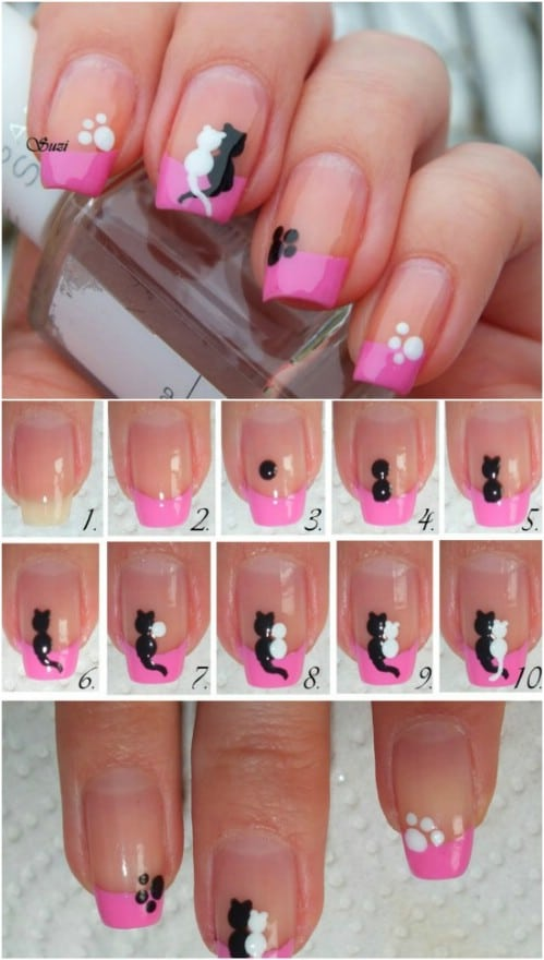 17 Lovely Valentine's Day Nail Art Designs and Tutoria