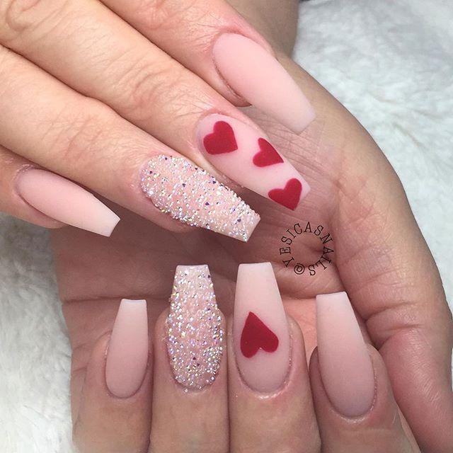 Valentines nails @KortenStEiN | Pretty nail art designs, Nail .