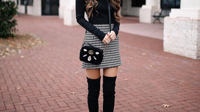10 Winter Skirt Outfit Ideas To Copy Now - BelleT