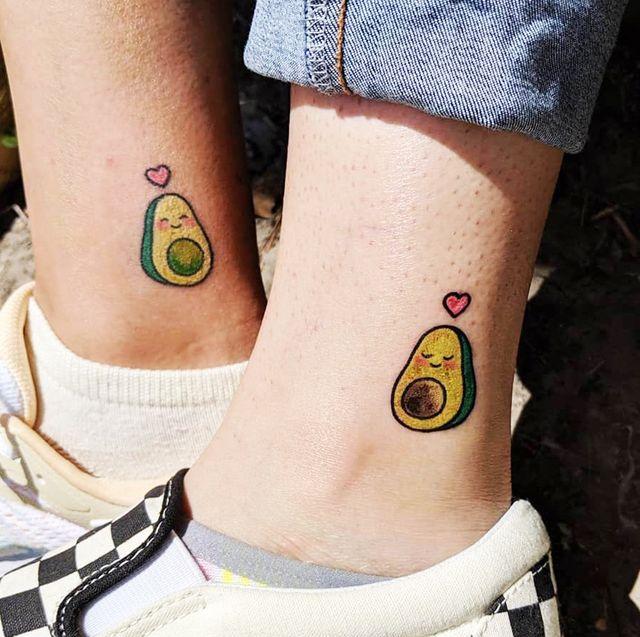 28 Best Friend Matching Tattoo Ideas - Cute Matching Tattoos for .