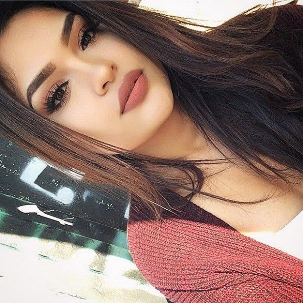 Matte Lipstick Makeup Looks from Instagram I Loved | Hair makeup .