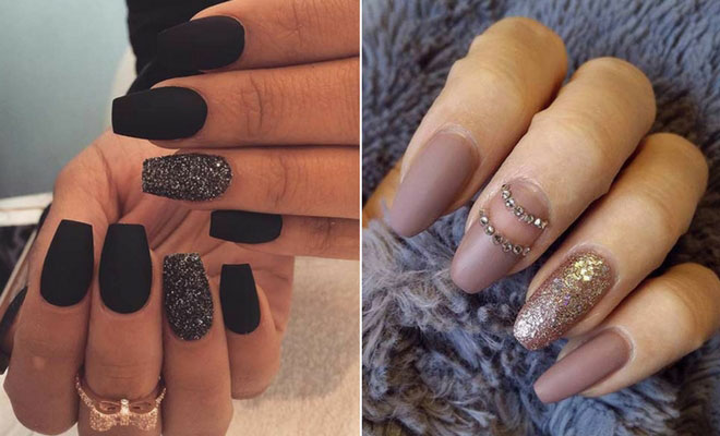 45 Cool Matte Nail Designs to Copy in 2019 | StayGl