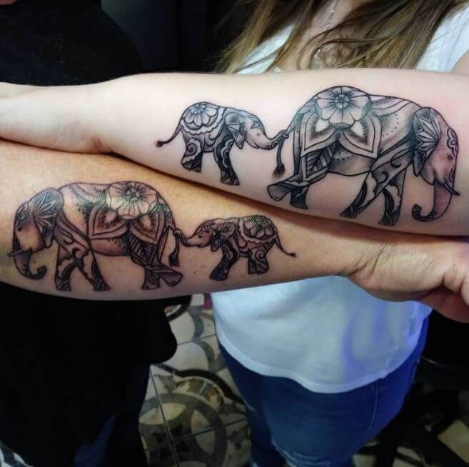 115+ Meaningful Mother Daughter Tattoos Ideas (2018) - Page 5 .