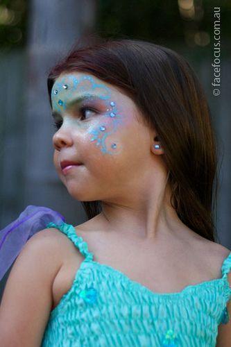 Image result for child mermaid makeup | Halloween makeup for kids .