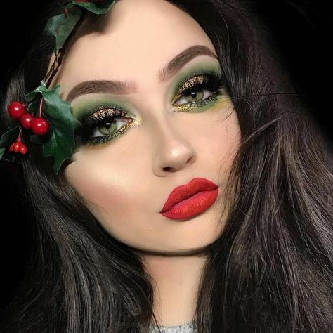 85 Mesmerizing Christmas Makeup Ideas to Leave the Beholder .