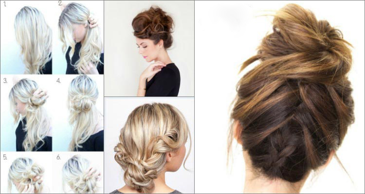 Top 10 Messy Updo Tutorials For Different Hair Lengt