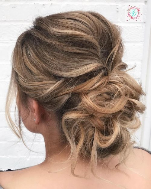 18 Sexiest Messy Updos You'll See in 20