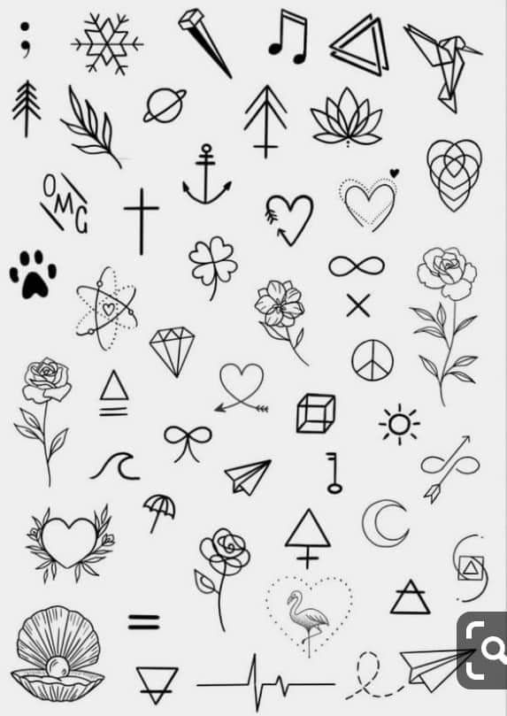 Mini Tattoo Designs – lilostyle in 2020 | Sharpie tattoos, Tattoo .