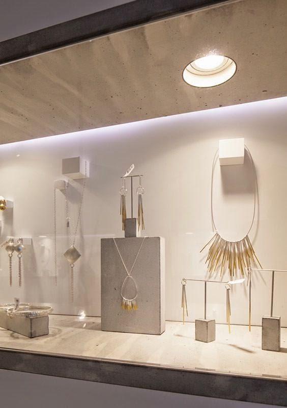 Nile Corp. Blog : Modern Minimalist Jewelry Display Ide