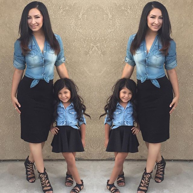 Mommy And Me Outfits – geldeizleme.com in 2020 | Mom daughter .