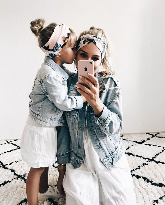 47 Adorable Mothers and Daughters Matching Outfit Ideas, | Mommy .