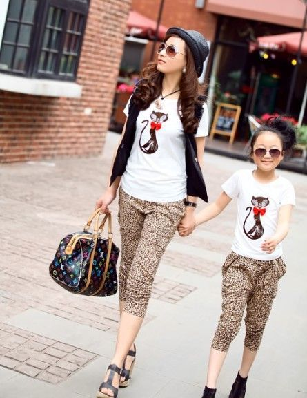 19 Adorable Mothers and Daughters Matching Outfit Ideas | Mom .