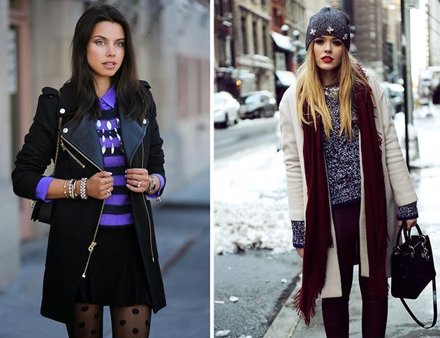 Cool Winter Layering Style Examples - Sortashion | Layering .