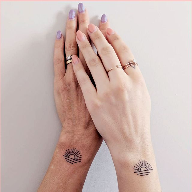 32 Mother-Daughter Tattoo Ideas and Matching Designs for 20