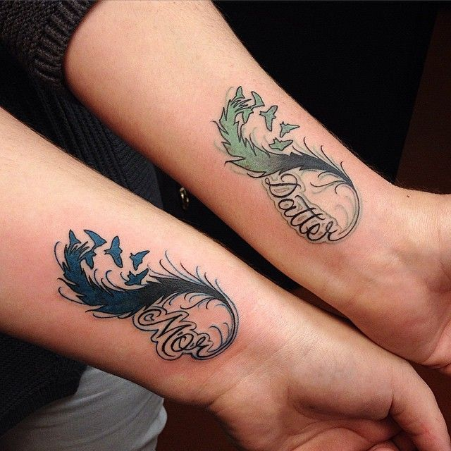 31 Beautifully Mother Daughter Tattoo Ideas Pictures | Tattoos for .