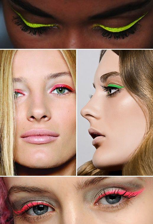 17 Fabulous Neon Eye Makeup Ideas for Women - Pretty Desig