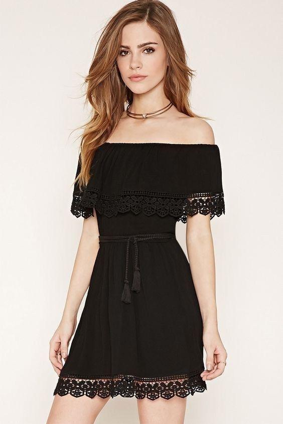 80+ Summer Time For Off Shoulder Dresses Ideas 3 | Off shoulder .