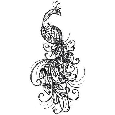 Peacock Tattoo Meaning: Pride and Luxury | Peacock tattoo, Feather .