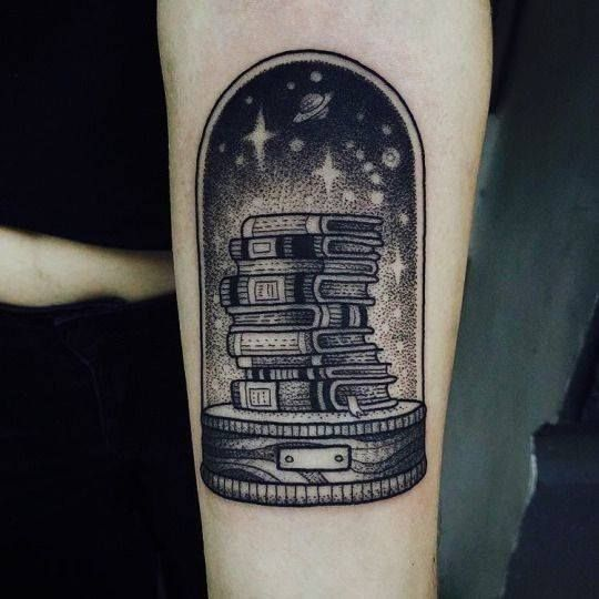 Quirky and Unique Literary Tattoo Perfect for Bookworms | Bookish .