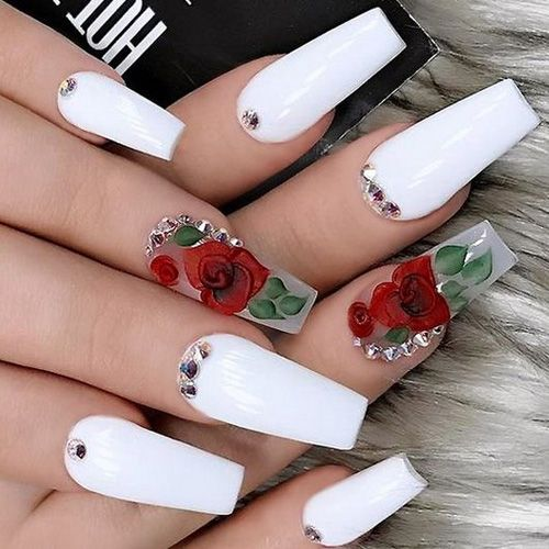 Best Spring Nails - 31 Best Spring Nails for 2020 in 2020 | White .