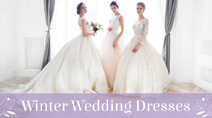 The Best Wedding Dresses For Wint