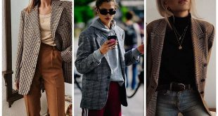5 Ways to Wear Plaid Blazers and Outfit Ideas to Inspire You f
