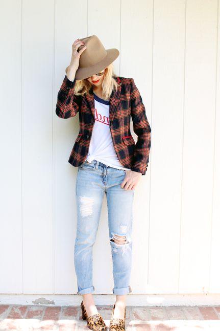 80 + Plaid Print Outfit Ideas For Women 2020 - LadyFashioniser.c