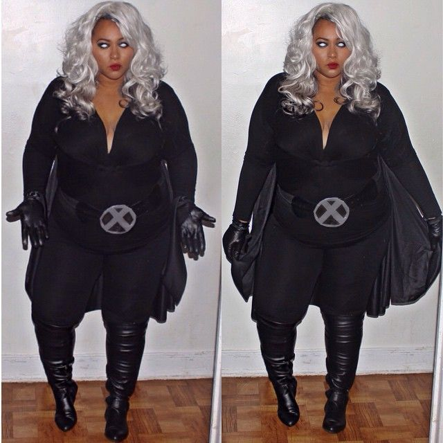 Summon your superpowers in this X-Men Storm Halloween costume .