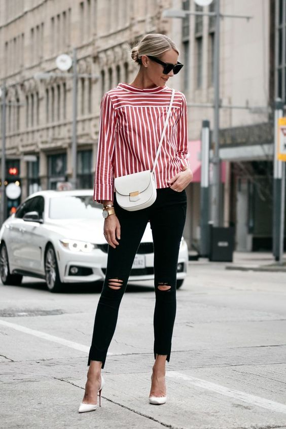 Fashion Trend to Love - Spring Stripes! | Outfits with striped .