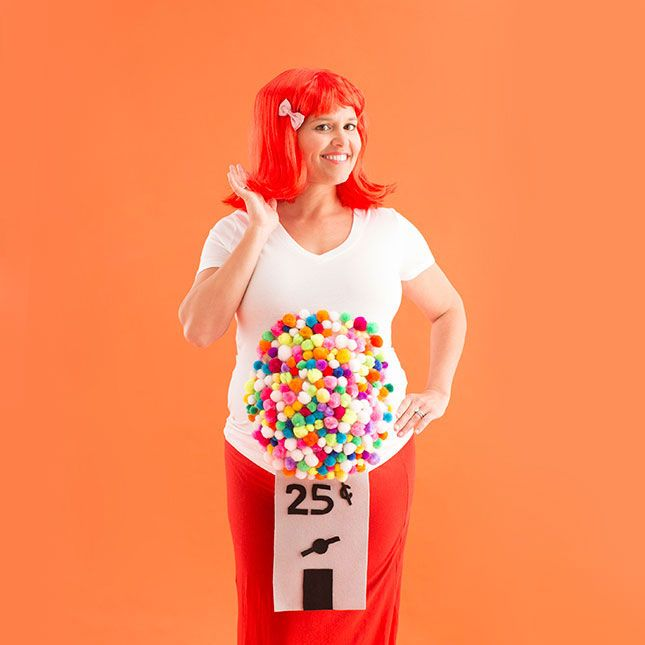 10 DIY Maternity Halloween Costume Ideas for Pregnant Women .