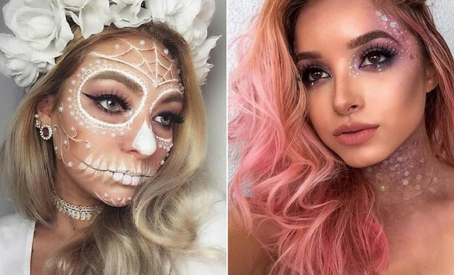 43 Pretty Halloween Makeup Ideas for 2020 | StayGl