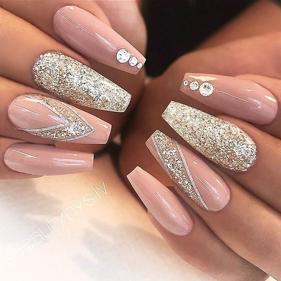 We have gathered for you some 60 cool prom nail designs which are .