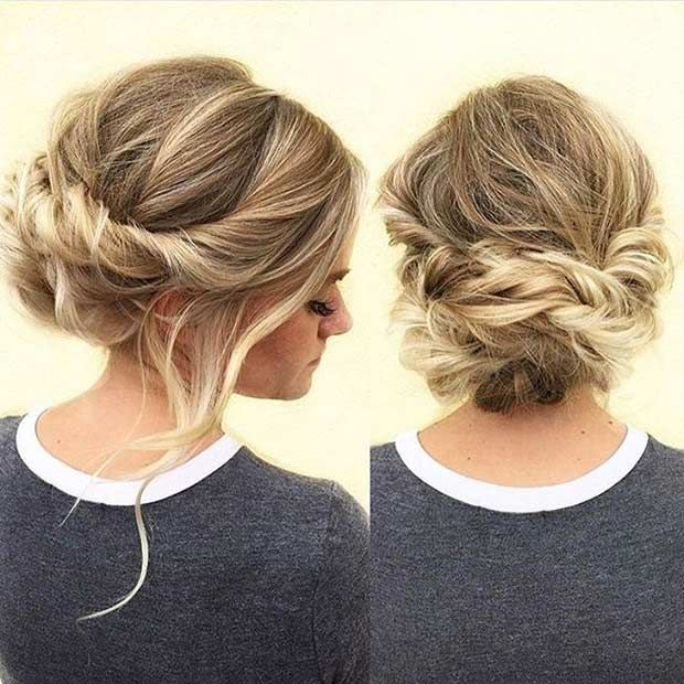 31 Most Beautiful Updos for Prom | StayGlam | Twist hairstyles .