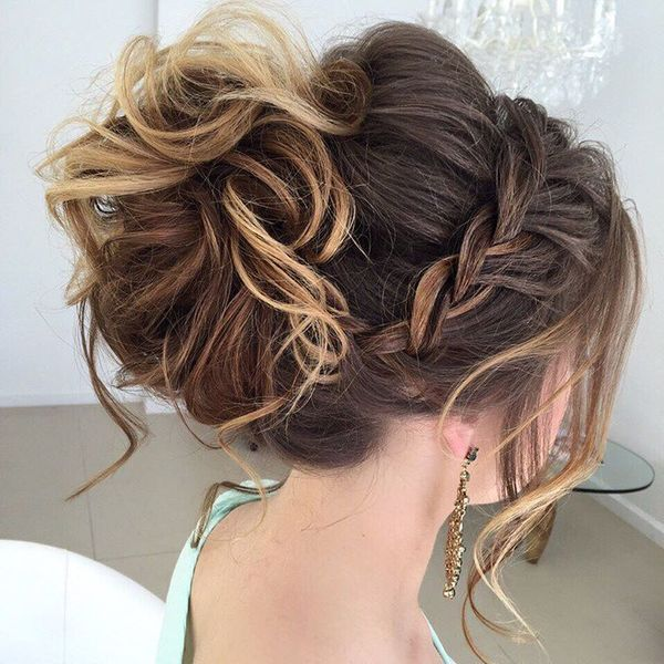 Popular Prom Hairstyles Updo | Medium hair styles, Up dos for .