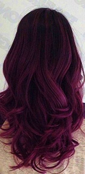 29 Dark Purple Hair Colour Ideas to Suit any Taste in 2019 - Hair .