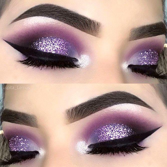 Purple Smokey Eye Makeup Ideas to Open the Party Season ☆ See .