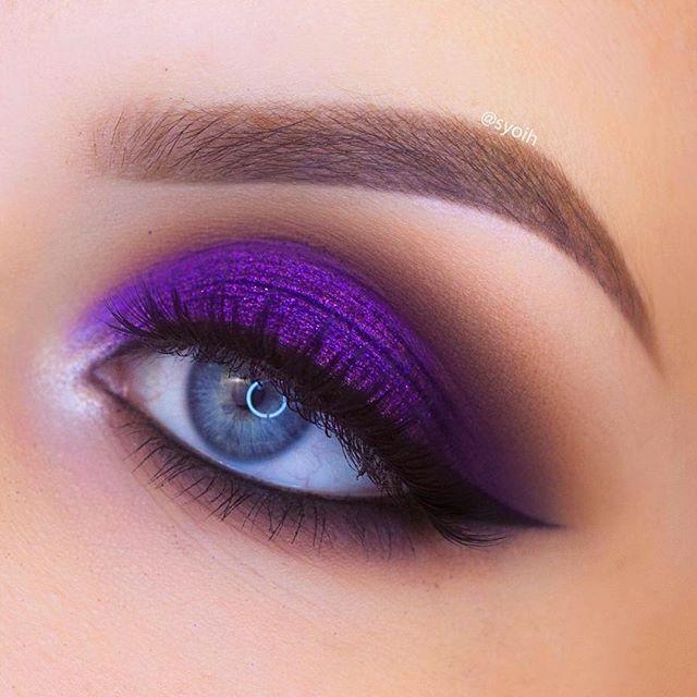 21 Pink and Purple Eye Makeup Looks > CherryCherryBeauty.com .