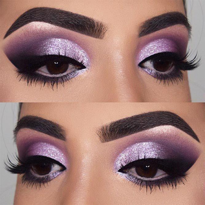 Smokey Eye Makeup Looks for Brown Eyes picture 1 | Purple smokey .