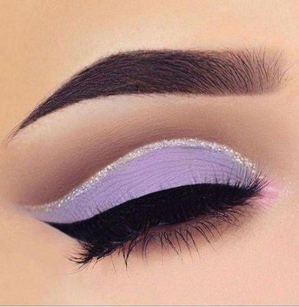 Trendy nails pastel purple eye makeup ideas | Purple eye makeup .