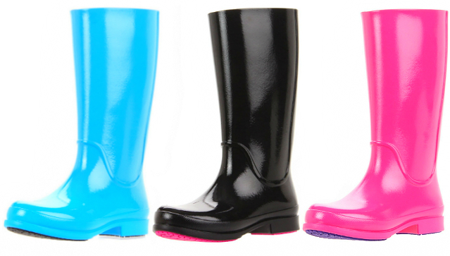 Rainy day chic with Crocs rain boots & sneakers   Her World Singapo