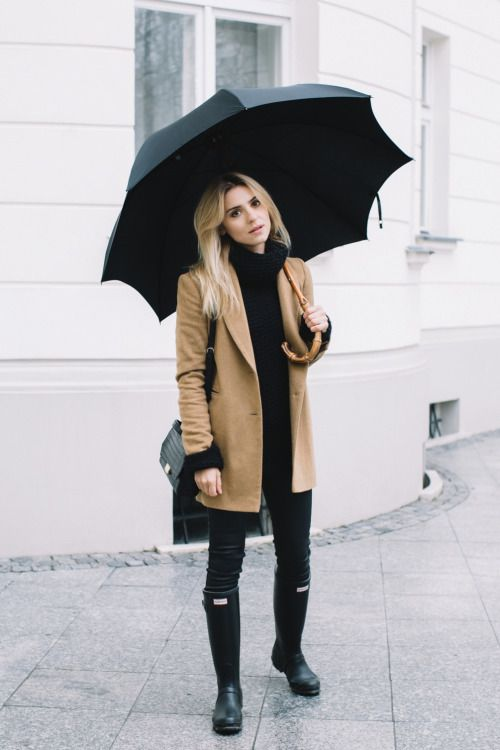 Upper Casual | Rainy outfit, Fall fashion coats, Rainy day outf
