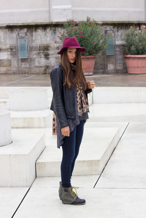24 Cute Outfits For Fall Rainy Days - Styleohol