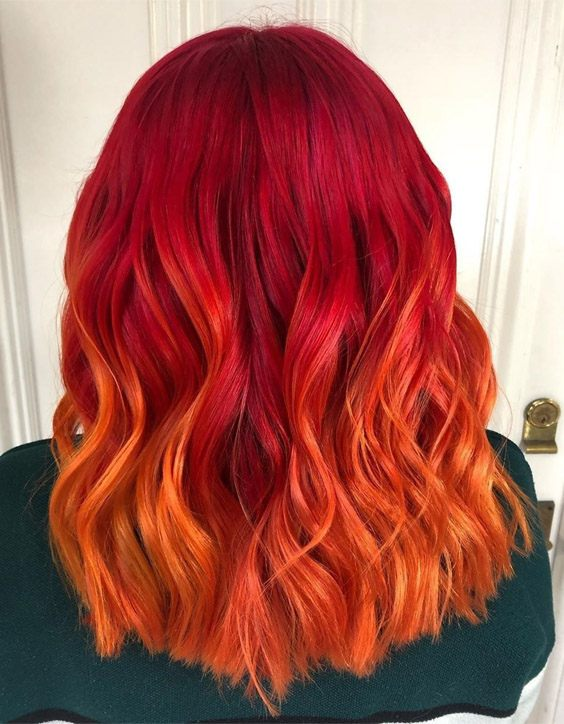 Edgy Style of Red Hair Color & Shades for 2020 | PrimeM