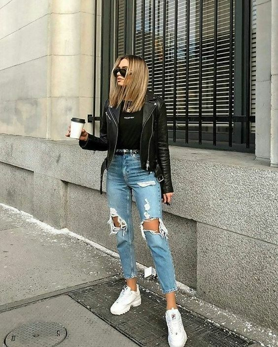 Stylish Ideas: How to Create the Perfect Ripped Jeans Outfit .