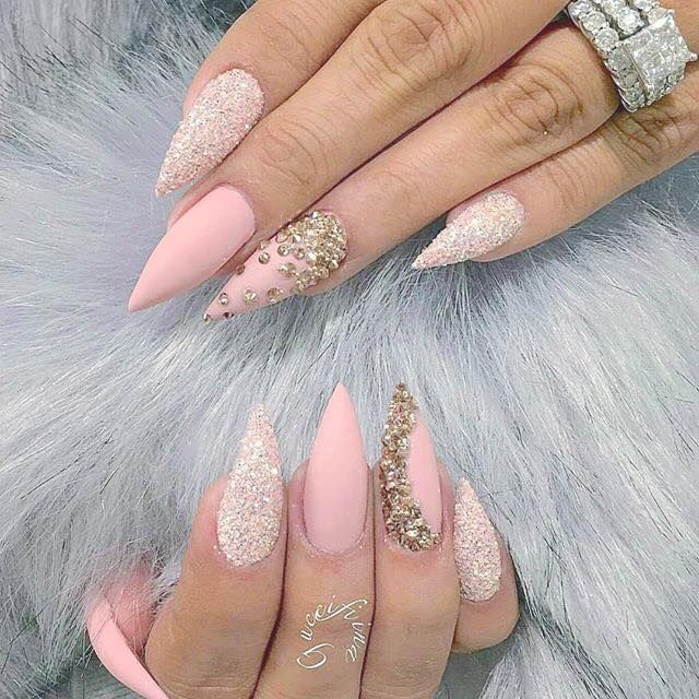 Top 33 Rocking Party Nail Art Ideas 2019 | Stiletto nails designs .
