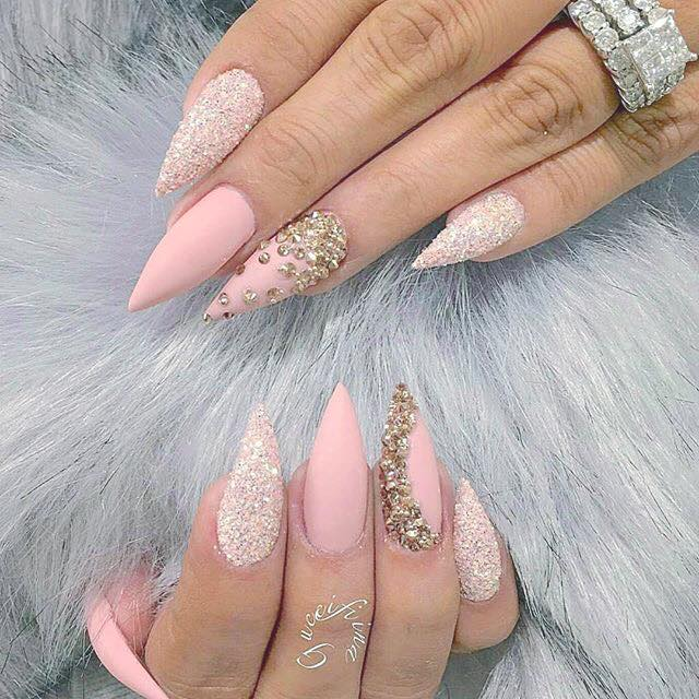 51 Rocking Party Nail Art Ideas to Stand Out in a Party Cro