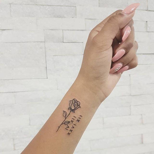 Best Roman Numeral Tattoo Ideas | POPSUGAR Beau
