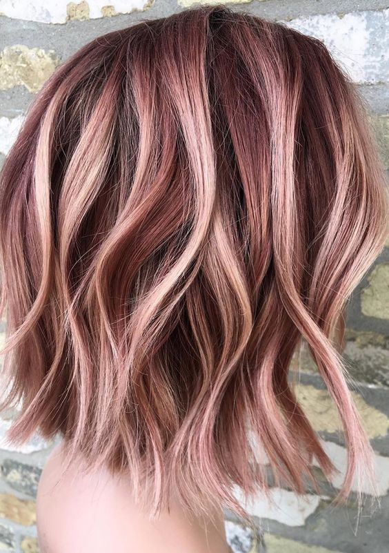 Rose Gold Hair Color – thelatestfashiontrends.com in 2020 | Medium .